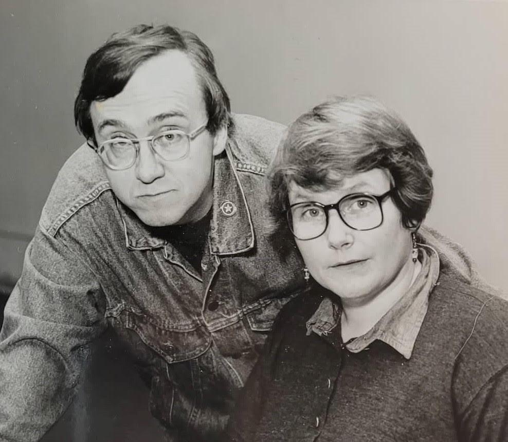 Joe & Cheryl Doyle in 1996
